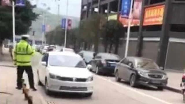 达州车主乱停放阻碍交通 还拍视频