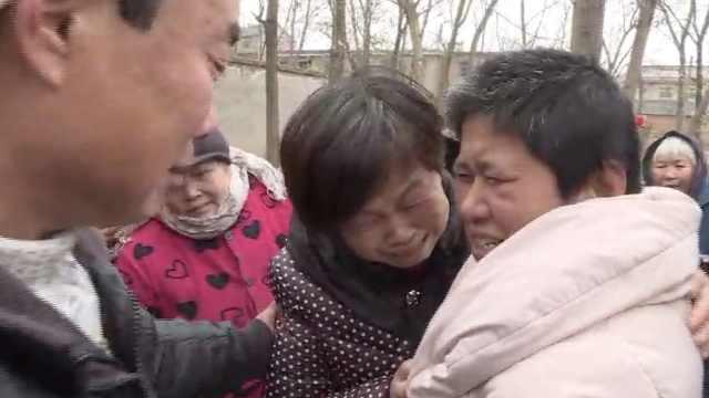 聋哑女走失19年,见到家人当场泪崩