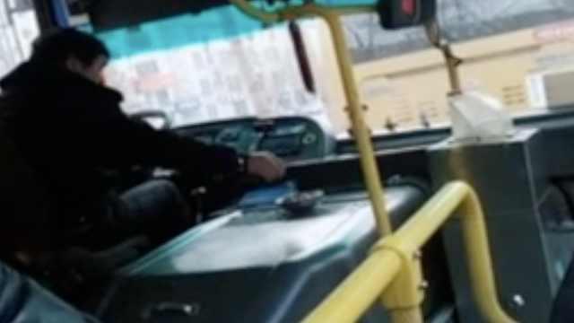 公交司机开车嗑瓜子,车队:有糖尿病