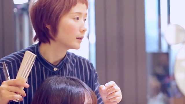 为什么女理发师那么少?这儿就有个