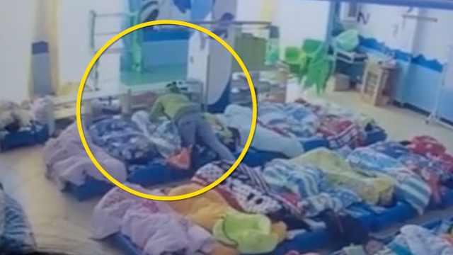 广西曝幼儿园虐童:用被窝捂住头