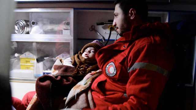 叙利亚围城数百重病患者急需治疗