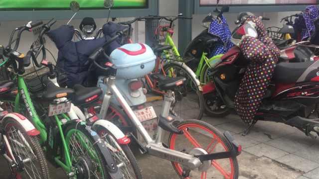 """学校禁共享单车,""""校园就那么大"""""""
