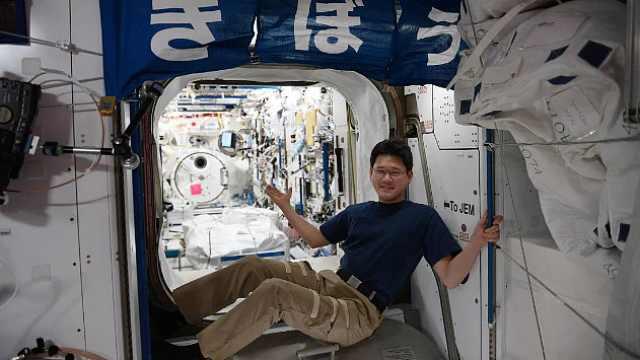 在太空长高9cm?日本宇航员:量错了