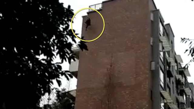 14岁少女7楼跳下,仍能说话正在抢救