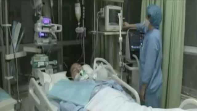 感冒致肺部感染,青科学生进了ICU