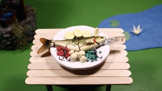 超萌定格动画:在小小书桌上的野炊