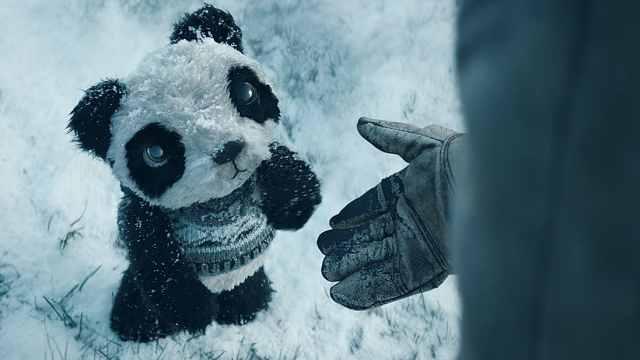 冬日暖心科技短片:走失熊猫回家路