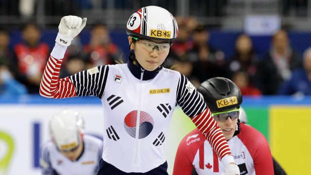 内讧!韩国速滑一姐遭教练殴打离队