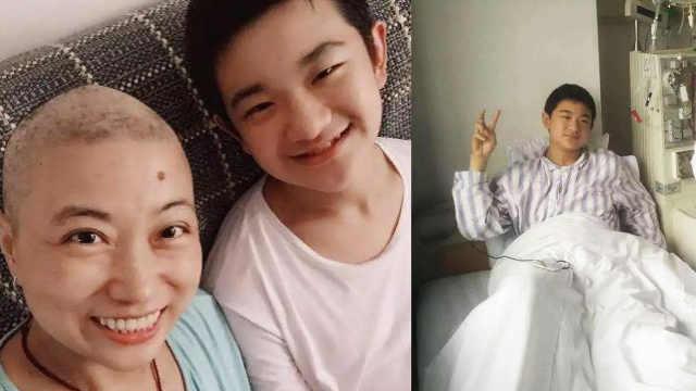 少年两次捐髓救母,抽取6小时浑身疼