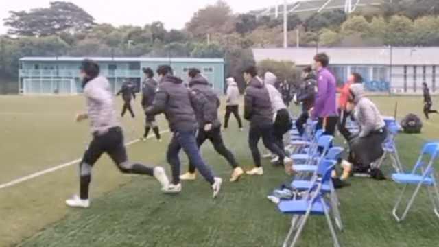 打完接着骂!中国足球再现暴力冲突