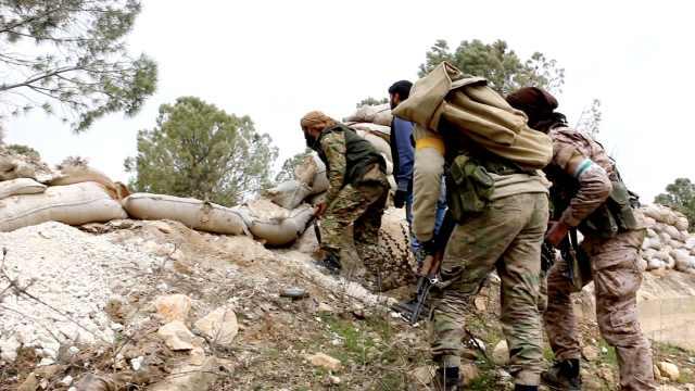 前线实拍:土耳其在叙利亚北部开战