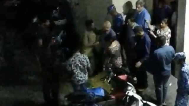 馬爾代夫前總統被捕:現場畫面曝光