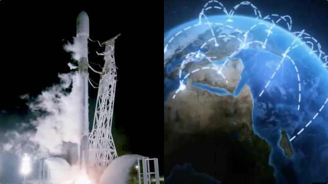 马斯克火箭再升空:搭建卫星互联网