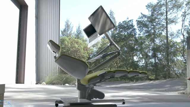 办公室缺这样能坐能站又能躺的椅子