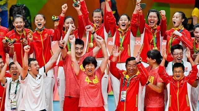 期待!中国女排里约夺冠将拍成电影