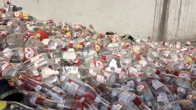 2万箱山寨名酒被销毁,价值达千万