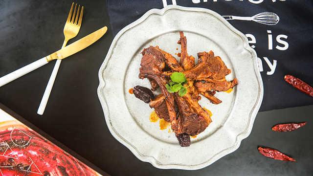 汤浓味鲜红焖羊肉,怎么吃都不够!