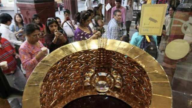 直播:百斤金十斤钻,世界最大金戒指
