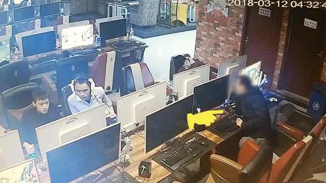 惯偷网吧盗窃手机,转手只卖100元