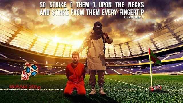梅西再登ISIS海报,大力神杯遭腰斩