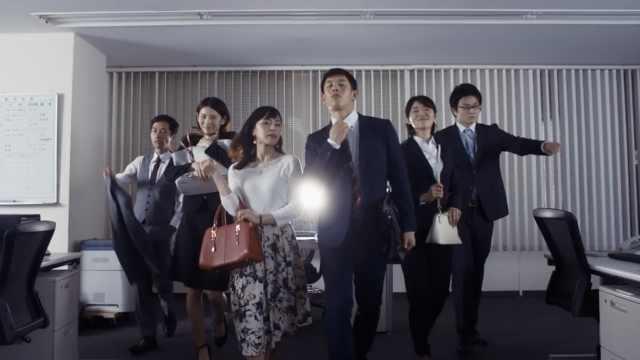 脑洞清奇!日本广告教人准点下班