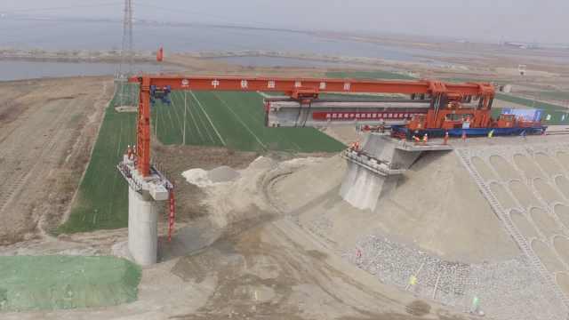 开架!蒙华铁路晋豫段建设进程加速