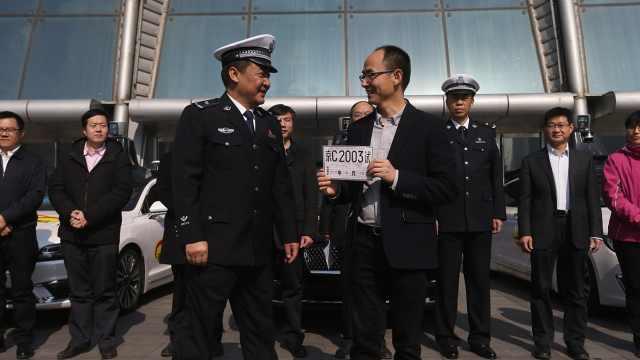 北京发放自动驾驶牌照,在5环外路测