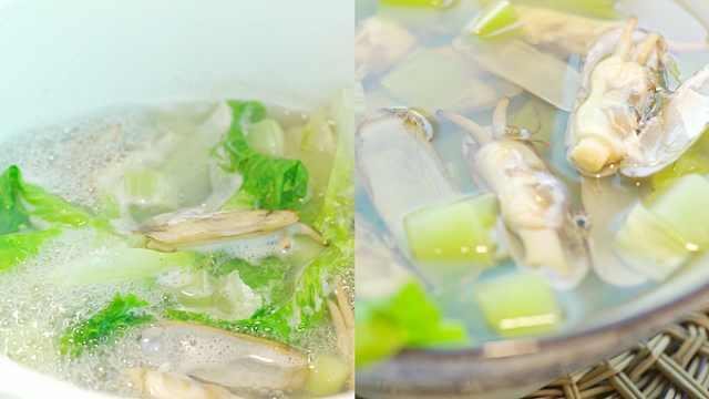 鲜美清淡的莴笋老蛏汤!