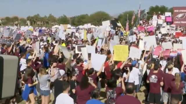 反对枪支泛滥,美多地爆大规模游行