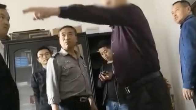 记者采访遭辱骂,涉事科长已被免职
