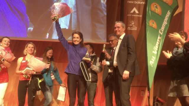 埃菲尔塔垂直马拉松,冠军又是她!
