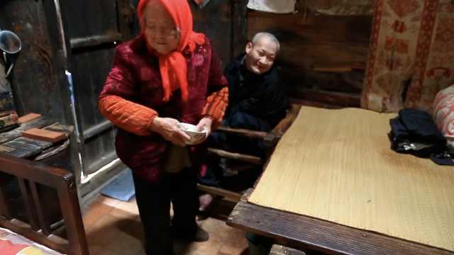 91岁母亲照顾病儿68年:我不能早死