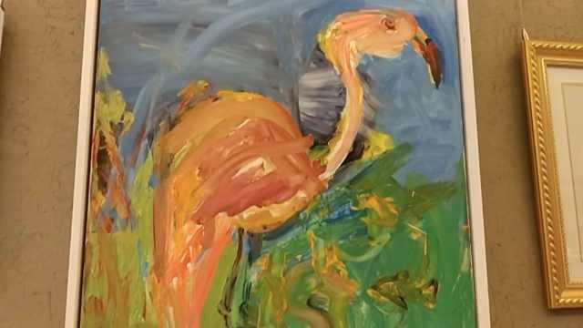 自闭症儿童一幅油画,有人出2万订购