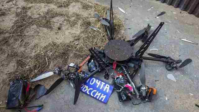 俄罗斯无人机送货首飞,一头撞上墙