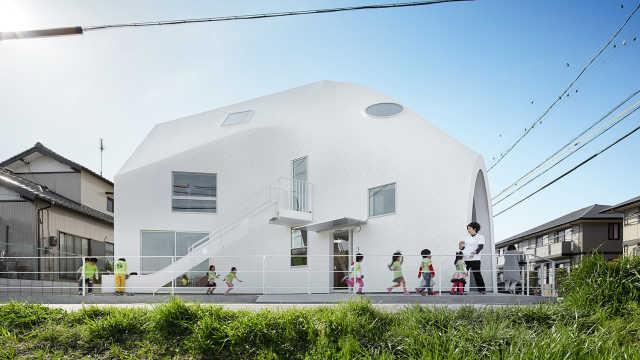 直播:华人设计作品!日本最美幼儿园