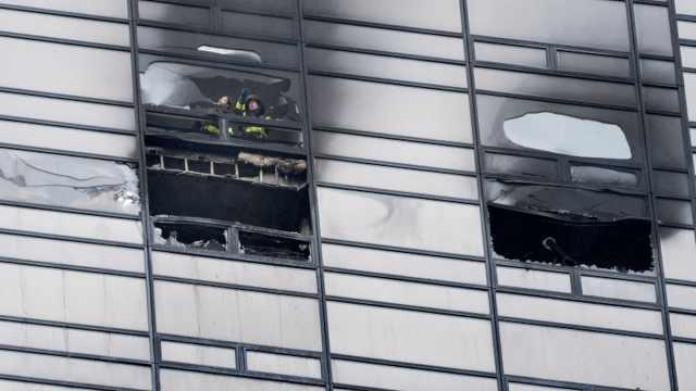 川普大厦又起火,消防部门已到现场