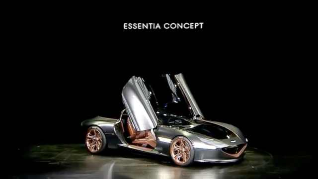 Genesis首款纯电动跑车,三秒破百