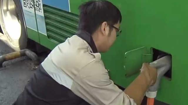 青岛首个纯电动公交示范场站亮相