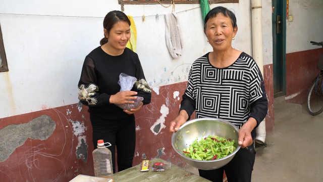 婆婆腌制芹菜,材料普通家家有!