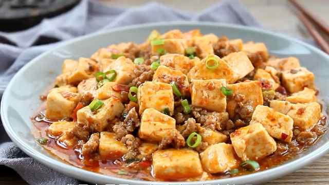 豆腐和肉沫,炒出来比卤肉还香!