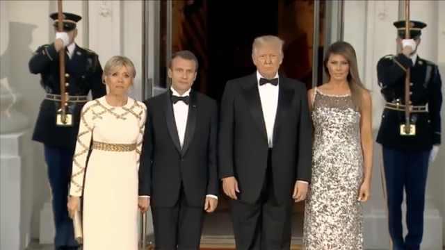 川普任后的首次国宴都有哪些来宾?