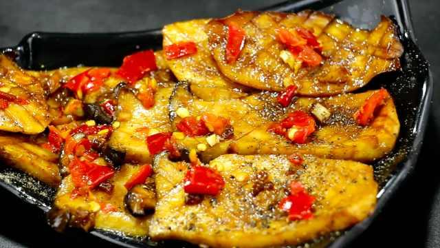 椒盐杏鲍菇,杏鲍菇这样做超美味