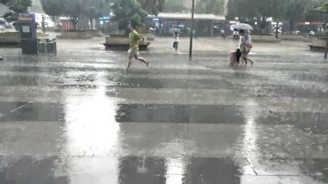 51假日最后一天,网红重庆多地暴雨