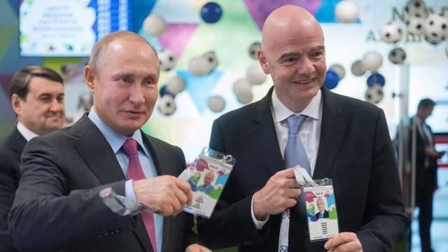 普京获世界杯球迷ID:安保独一无二