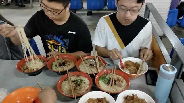 1小时卖500碗!日本大厨被学生吓呆