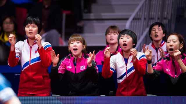 朝韩联队世乒赛首战,0-3被日本横扫