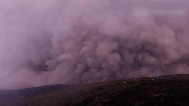 夏威夷火山喷发 一周遭数百次地震
