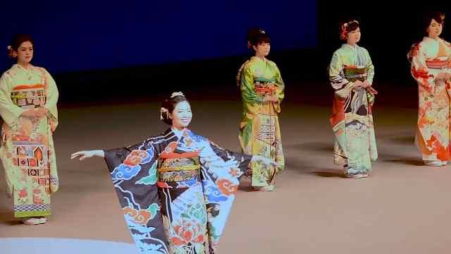 美炸!东京奥运会为各国特制和服