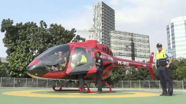 打飞的:雅加达推出直升机出租服务